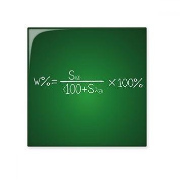 Chemie Kowledge Löslichkeit Berechnung Formel Keramik Bisque Fliesen - Badezimmer fliesen berechnen