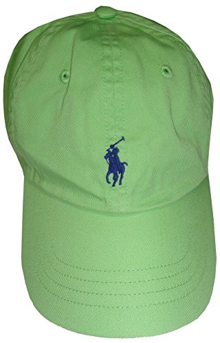 Polo-Ralph-Lauren-Sports-Pony-Logo-Hat-Cap-One-size-Limeroyal