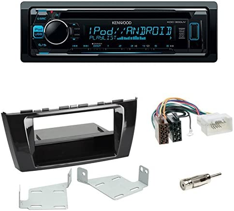 Set Autoradio Kenwood Kdc 300uv Cd Autoradio 2 Din Elektronik