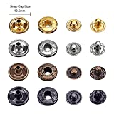 Hotop 80 Set Snap Fasteners Snaps Button Press