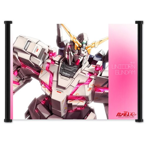 Mobile Suit Gundam Unicorn Anime Fabric Wall Scroll Poster