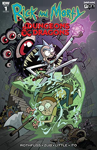 Rick and Morty vs  Dungeons & Dragons #1 (of 4)