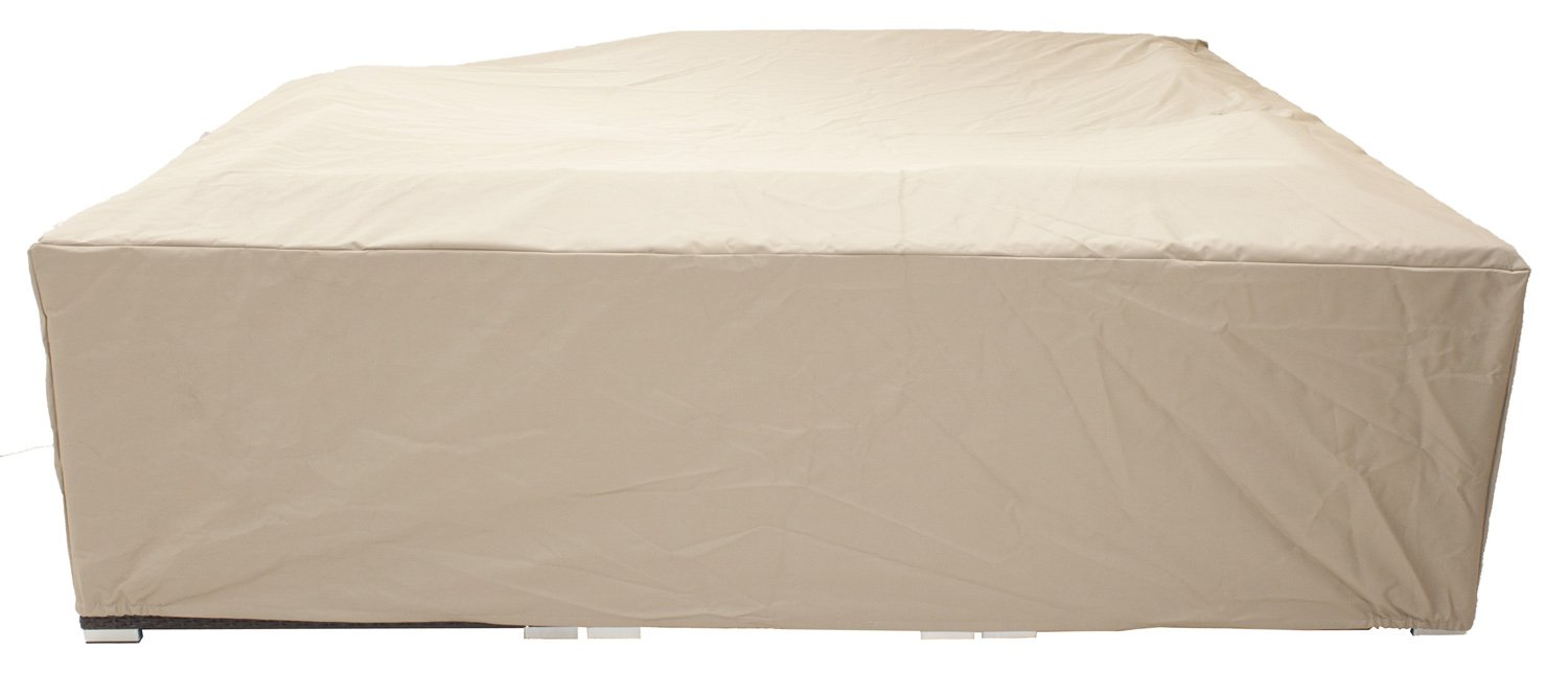 Amazon.com : All Weather 8u0027 X 8u0027 Outdoor Patio Furniture Cover In Beige   Heavy  Duty Garden Furniture Cover : Garden U0026 Outdoor Part 70