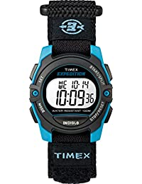 Timex Unisex Sport Expedition Collection Blue Dial Quartz Watch (Model: TW4B12900GP)