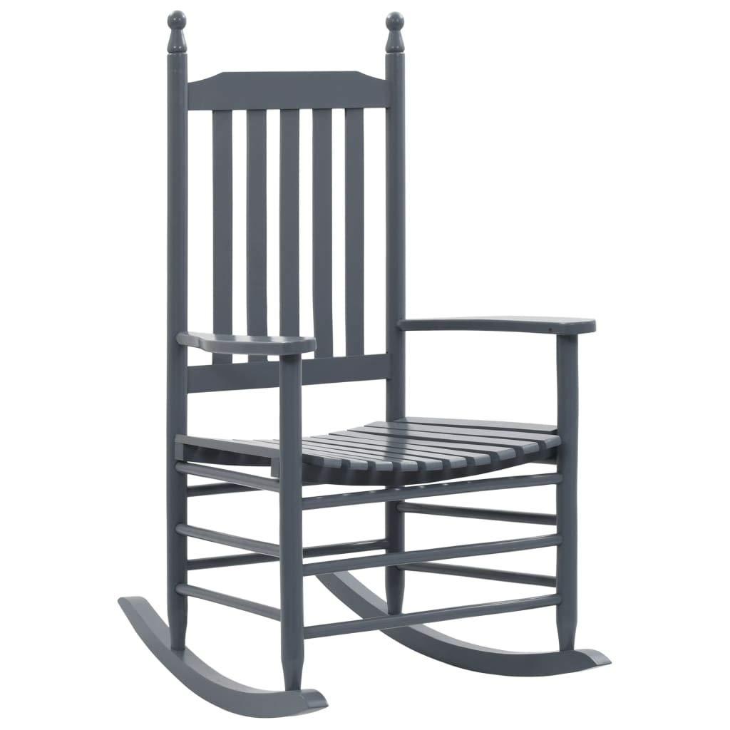 HomeMiYN Garden Rocking Chair Durable Rattan Material Moon Rocking Chairs for Adults Black 60.5 x 82 x 114 cm