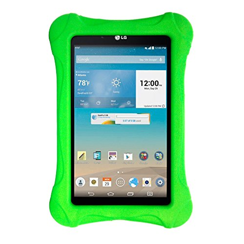 SIMPLEWAY LG G Pad 7.0 Case - Light Weight Kids Friendly Shock Proof Case for LG (G Pad F7.0) 7 Inch Tablet (Green) (Lg Tablet Case Kids)