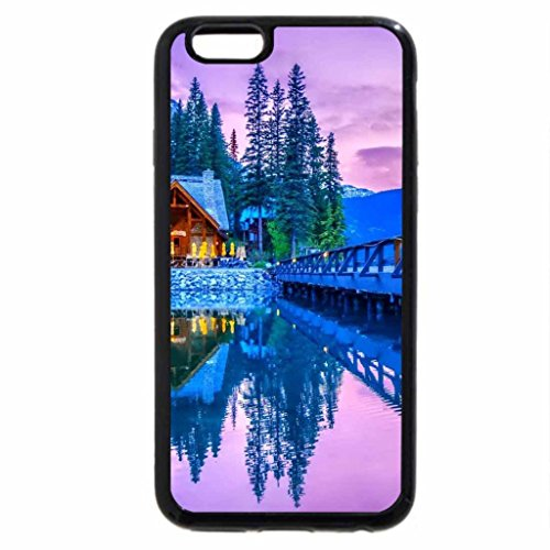 iPhone 6S / iPhone 6 Case (Black) bridge to a national park lodge hdr