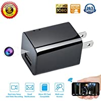 Spy camera USB Phone charger by WEMLB - 1080p HD hidden...