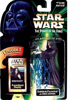 (Star Wars POTF Emeperor Palpatine Flashback Action Figure)