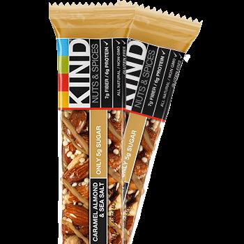Amazon.com : KIND Bars, Caramel Almond and Sea Salt, Gluten Free ...