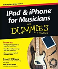 The easy way to use your iPad or iPhone to make amazing music       If you are a budding or established musician looking to use your iPad or iPhone as a portable musical instrument, recording studio, or composition tool, then you've co...