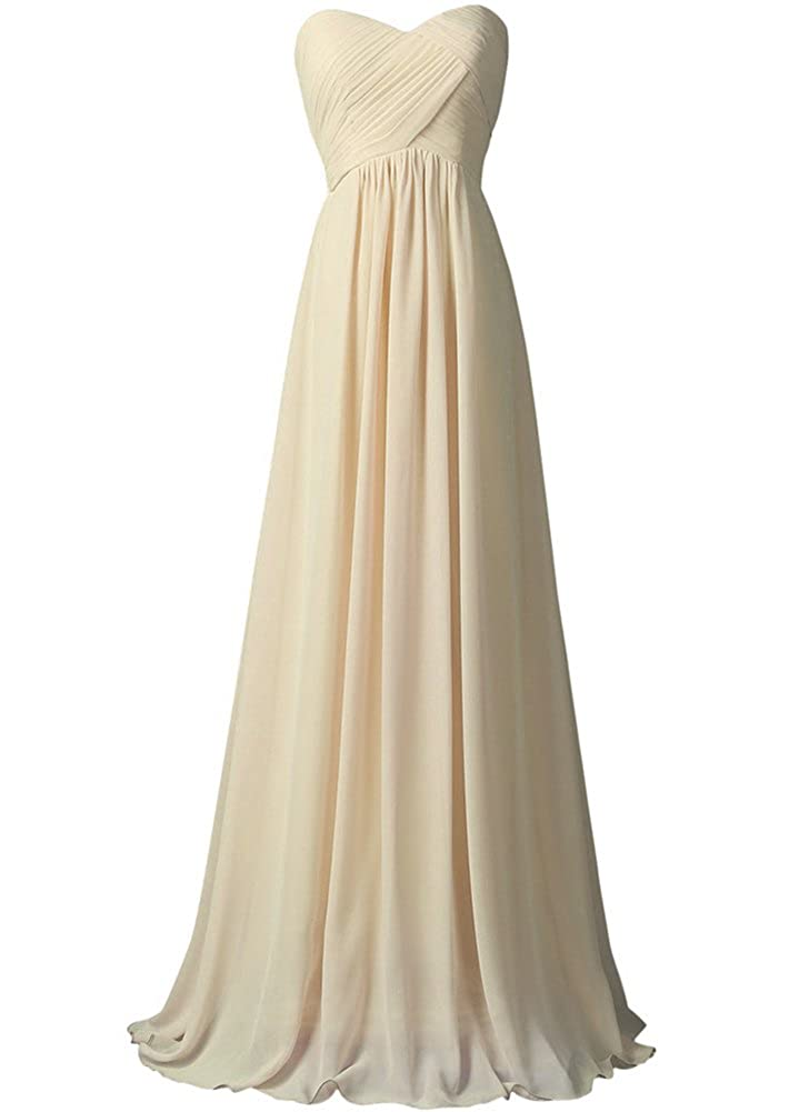 WAWALI A-Line Straplees Prom Dresses Evening Party Gowns at Amazon Womens Clothing store: