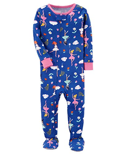 Carters Girls Piece Cotton Sleepwear