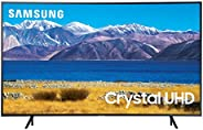 SAMSUNG 65-inch Class Curved UHD TU-8300 Series - 4K UHD HDR Smart TV With Alexa Built-in (UN65TU8300FXZA, 202
