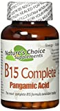 B15 Complete Extra Strength, Pangamic Acid, with