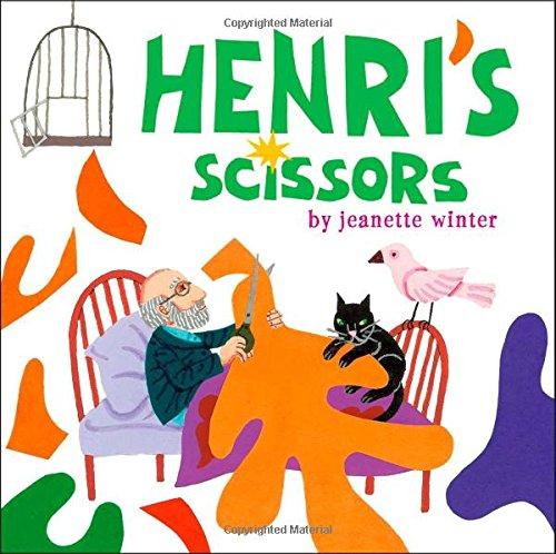 henri s scissors jeanette winter 8601400463321 amazon com books