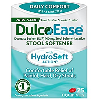 Amazon Com Dulcoease Stool Softener With Hydrosoft Action