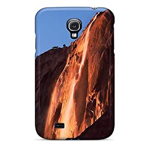 High Impact Dirt/shock Proof Case Cover For Galaxy S4 (horsetail Fall)
