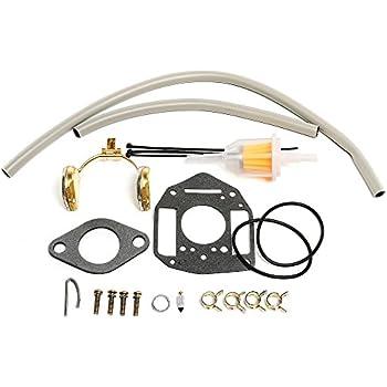 labwork Carb Rebuild Repair Kit for Onan Engine P216G P218G P220G P224G OL16 OL18 OL20 LX720 LX770 LX790 B48G-GA020 B48G-GA19.9 146-0657 146-0478 146-6100 Nikki Performer