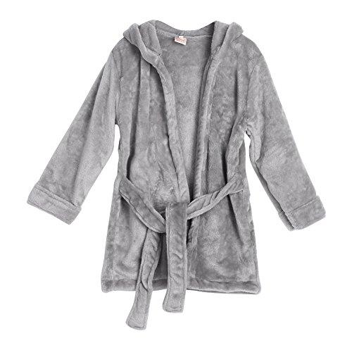 Baby Boys Girls Cute Rat Hoodie Bathrobe Soft Bathe Towel Wrap Blanket (Pink) - 1