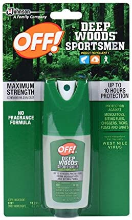 Off! Deep Woods Sportsmen Spritz 1-Ounce Bottles (Pack of 12) by OFF!