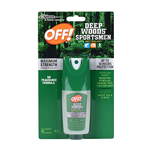 - OFF! Deep Woods Sportsmen Insect Repellent 1 oz. (Pack - 1)