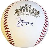 Yadier Molina Signed Ball - 2011 World Series - Autographed Baseballs
