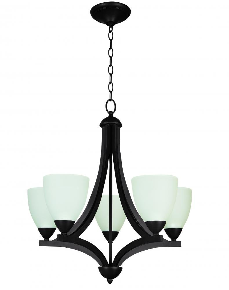 Amazon.com: Jeremiah 37725-ob-wf Almeda 5 luz – lámpara de ...
