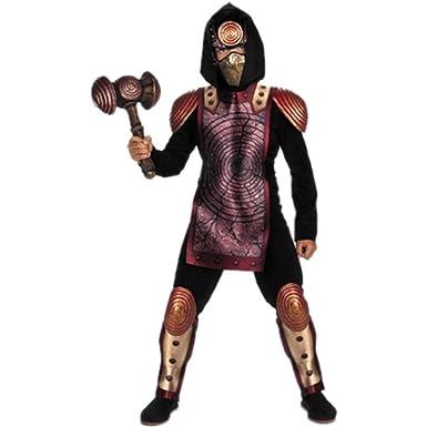 Amazon.com: Shockwave Ninja Kids Costume, Rojo/Negro: Toys ...