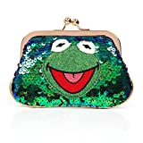 Irregular Choice Muppets Disney Kermit the Frog Love is Green Coin Purse Bag New
