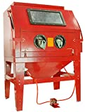 Dragway Tools Model 260 Sandblast Sandblasting Cabinet & Built In Dust Collector