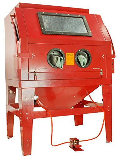 Dragway Tools Model 260 Sandblast Sandblasting Cabinet & Built In Dust Collector by Dragway Tools