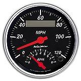 Auto Meter 1481 Designer Black Tach/Speedo Combo