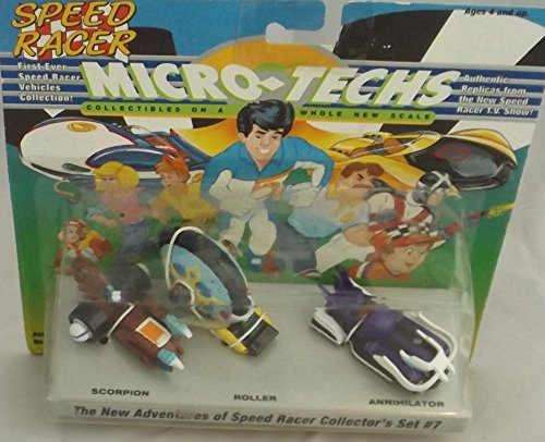 Micro Techs Speed Racer Vehicles Collection #7