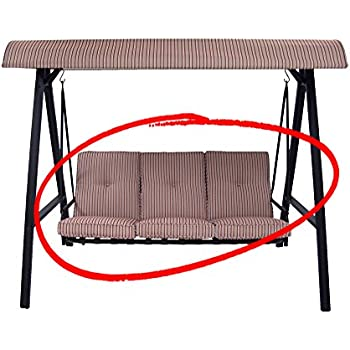 Amazon Com Replacement Cushions For The Mainstays Three Person Swing Ms 12 092 021 07 True