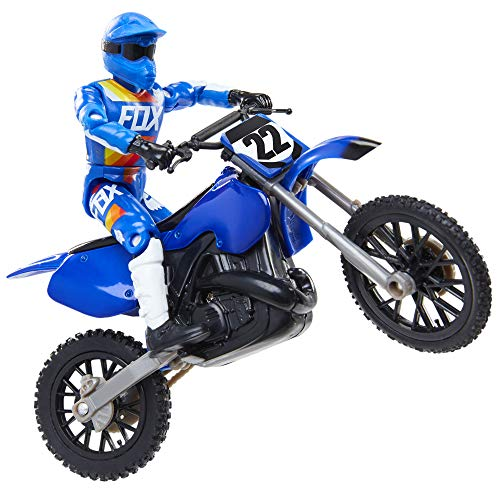 MXS New Spring 2018 Motocross Sound FX Bike & Rider Series 11-Chad Reed by Jakks Pacific Action-Figure-Playsets