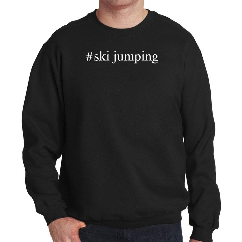 #Ski Jumping Hashtag Sweatshirt
