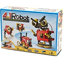 CIC Kits CIC21-891 4-in-1 Educational Motorized Robot Kit