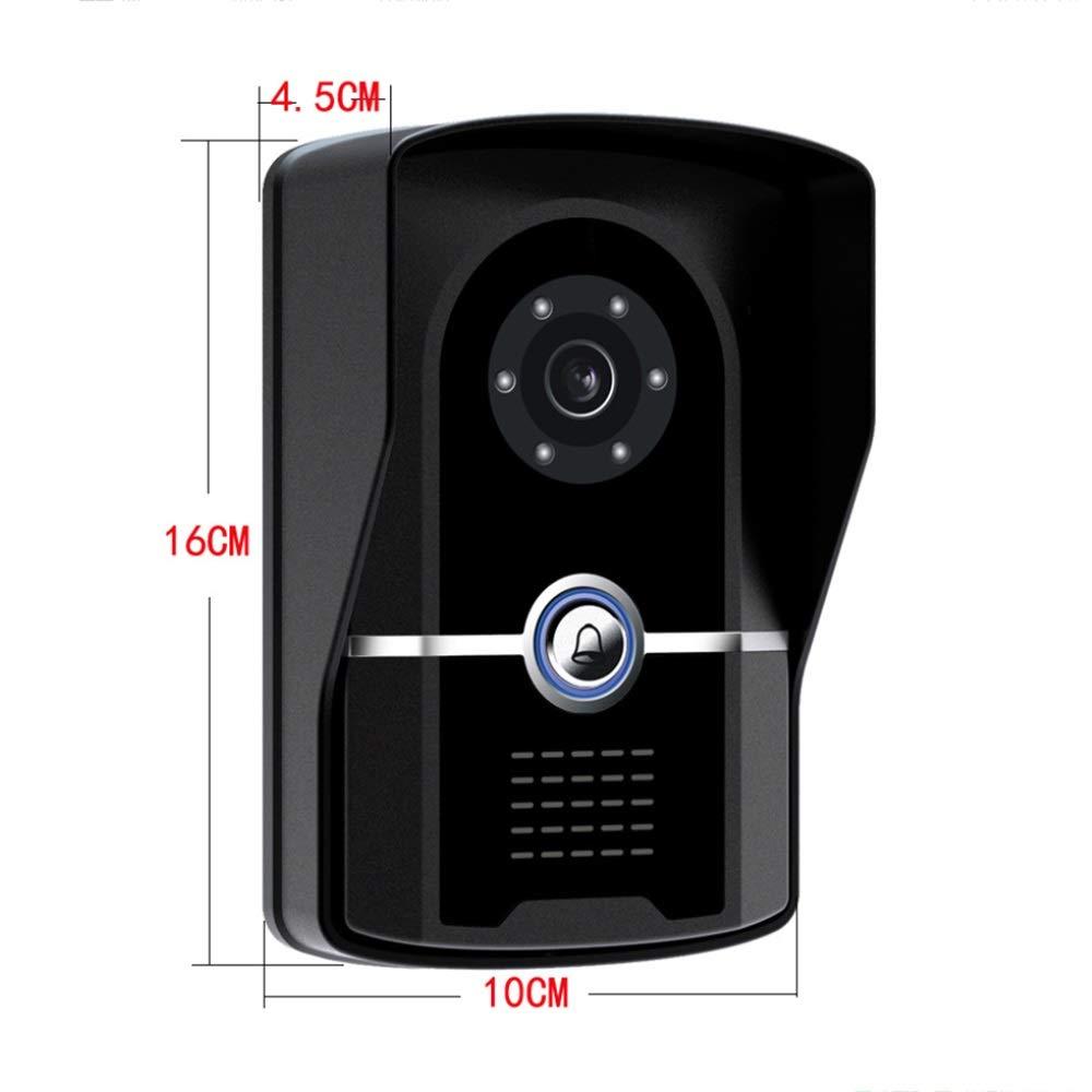 KRPENRIO 7-inch swipe waterproof HD video doorbell by KRPENRIO (Image #3)
