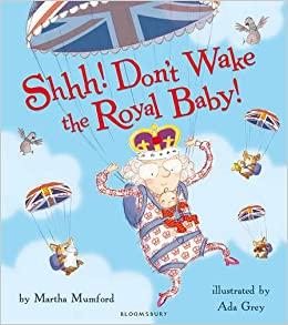 Image result for shhh don't wake the royal baby