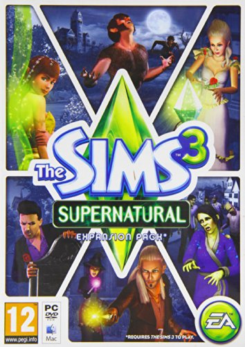 The Sims 3: Supernatural (Mac/PC DVD) by The Sims