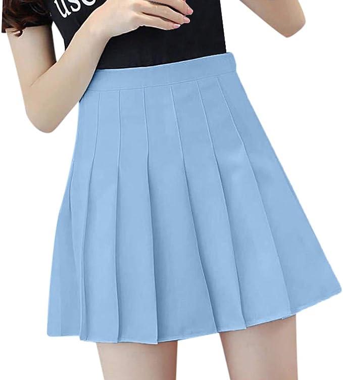Angelwolf - Falda de Cuadros, diseño de Cuadros, Mini Falda de ...