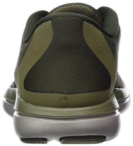 Nike Heren Flex 2017 Rn Sequoia / Zwart-medium Olive-stof