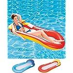 Cozywind-Piscina-galleggianti-Amaca-Piscina-Lettino-da-Spiaggia-Letto-Galleggiante-da-acquaper-Adulti-e-BambiniRossoBlu-Red
