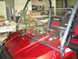 POLARIS RANGER Full Size (2009 XP, 2010-2014) 19 1/2'' Tall Half WindshieldTallest on the market (we make shorter upon request let us know at time of order). Made in America