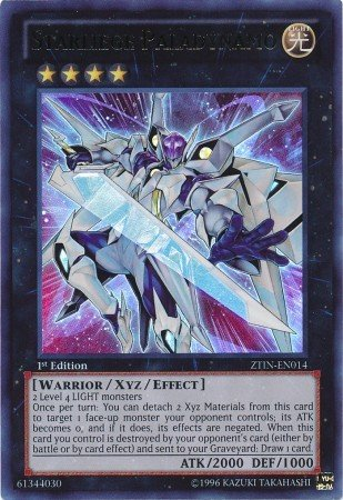 Yu-Gi-Oh! - Starliege Paladynamo (ZTIN-EN014) - 2013 Zexal Collection Tin - 1st Edition - Ultra Rare