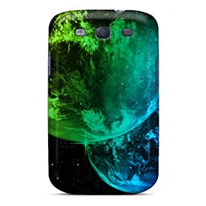 CarlHarris Premium Protective Hard Cases For Galaxy S3- Nice Design - Space