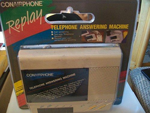 Conairphone Replay Telephone Answering Machine ()