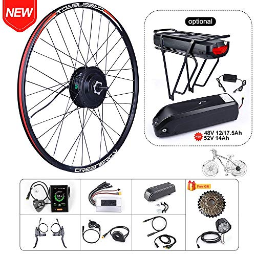 BAFAGN 48V 500W Ebike Conversion Kit for Bike DIY Electric Bike Motor Kit (20