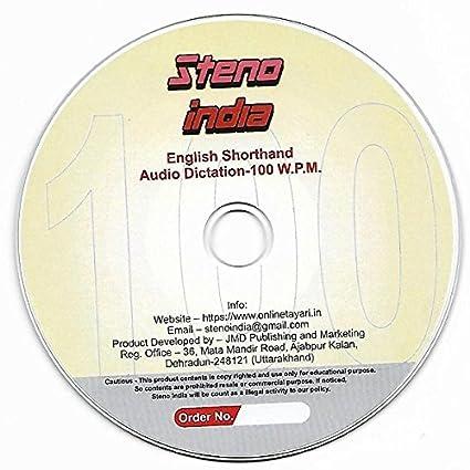Amazon in: Buy English Shorthand Audio Dictation- 100 WPM DVD, Blu